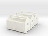 H0 logging - Bunkhouse (3pcs) 3d printed