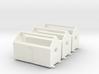 Z logging - Bunkhouses (3pcs) 3d printed