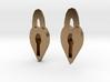 Lock Heart Earring set more printable 3d printed