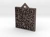 QRCode -- If found return to Ottawa, Canada 3d printed