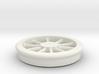 Lobehjul Tenderhjul H2 spor0 STL 3d printed
