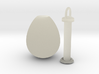 Egg Pendant Complete 3d printed