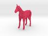 Unicorn Voronoi 3d printed