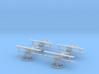1/144 Siemens-Schuckert D.IV (x4) 3d printed
