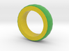 Green And Yellow Bracelet 2 3d printed