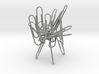 Paperclip Sculpture/Holder 3d printed