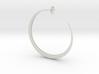Hoop Earring 3d printed