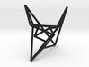 SzilassiPolyhedronstickmodel 3d printed