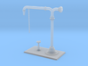Colonna Idrica / water crane scale1/87 3d printed FS steam loco water crane