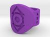 Indigo Tribe FF Ring Sz 5 3d printed