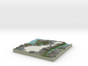 Terrafab generated model Mon Mar 03 2014 10:00:44  3d printed