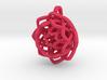 Transcendence lotus flower pendant  3d printed