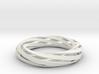 Twist Bracelet (M) 3d printed