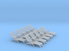 1:72 Titanic Deck Chair (Set of 10) 3d printed