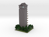 60x60 Tower05 (mix trees) (2mm series) wrl 3d printed