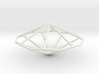 OctagonalTrapezohedron 70mm 3d printed