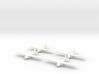 Waco Glider -1/700-(x4) 3d printed