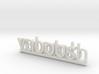 YabooshDotCom Key Fob 3d printed