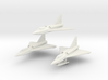 Convair F2Y Sea Dart 6mm 1/285 (3 seaplanes set) 3d printed