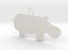 Wildlife Treasures - Hippo 3d printed