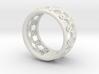 anello fascia traforata 3d printed
