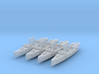 USS Montgomery (1890) 1:2400 x4 3d printed