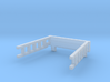 Roof ladder for DSB MT 102 N scale 3d printed