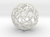 Dodecahedron Ball (narrow) 3d printed