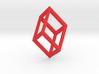 Cube Pendant 3d printed