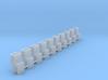 NEM coupling adapter for Dapol Gresley Bogie (ten  3d printed