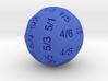 D36 Truncated Individual Numbers 3d printed
