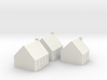 1/350 Town Houses 1 3d printed