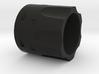 Revolver ring (long) 3d printed