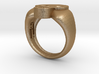Skull VIII Ring 3d printed