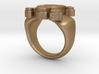 Skull IX Ring 3d printed