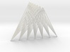 Tetrahedron = Join of Two Segments (10cm, 7bars@2m 3d printed