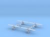 1/350th Morane Saulnier P 3d printed