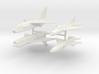 1/350 F-8 Crusader & MiG-21PF 3d printed