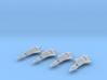 4x HMM (Missiles) 3d printed