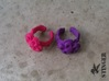 Child Flower Ring Size 2 3d printed