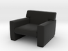 1:39 Scale Model - ArmChair 05 3d printed