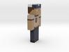 6cm | herobrine_scout 3d printed