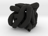"""tube cube 1.2"""" small 3d printed"""