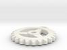 Gear Pendant - Three 3d printed