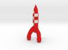 tintin rocket 3d printed