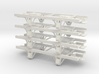 On30 14ft 4w underframe 4 pack 3d printed