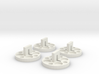 120 to 616 Film Spool Adapters, Set of 4 3d printed