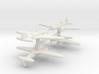 Ilyushin Il-4 1:900 x4 3d printed