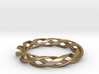 Toroid Spiral (3-strand, 1-piece, 1.2mm thickness) 3d printed