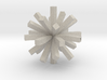 square asterisk 3d printed